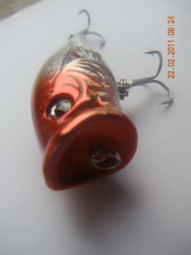pesca con esche artificiali popper 65 millimetri 13g 10 parti / lotto il trasporto libero