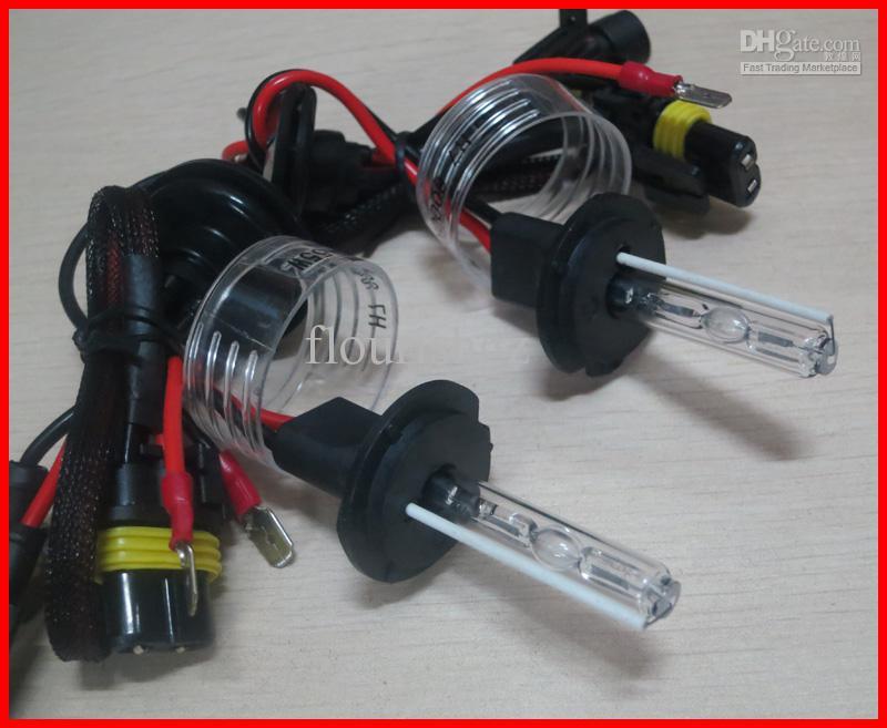 20 PARES 12 V 55 W HID Lâmpadas de Substituição Xenon H1 H3 H4 H7 H8 H11 9004/5/6/7 Único Feixe AC Alll Cor