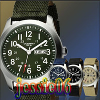 Wholesale Eyki Water - Luxury Date Week EYKI Quartz EYKI Men Water Resistant Wrist Watch eyki Denim Fabric Watches Bracelet