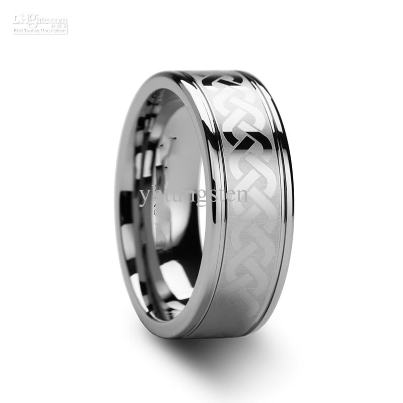 silver celtic wedding bands. tungsten carbide celtic ring mens jewelry wedding band silver lase new yh 116 engagement settings white gold rings from yhtungsten, $32.67| dhgate.com bands