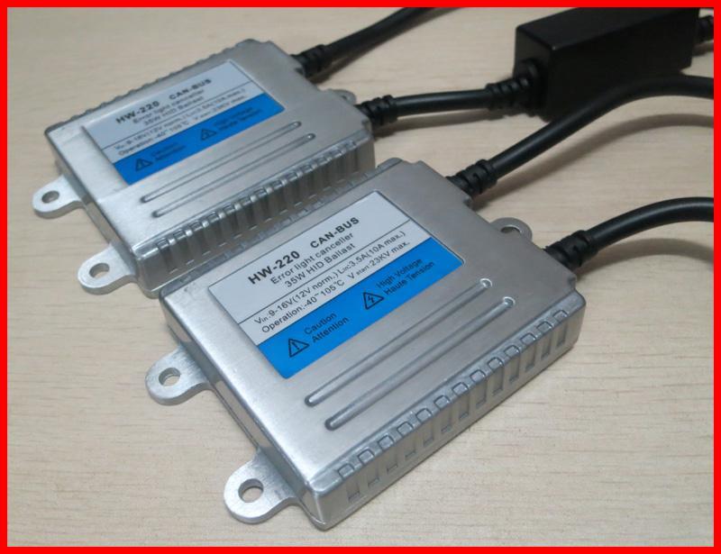 2012 NOUVEAU 35W Full CAN-Bus Ultra Slim Ballasts de remplacement 12V voiture HID CANBUS AC Ballast de rechange