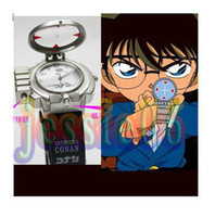 Wholesale Multi Action - Hot watch detective conan a live-action version of band laser aiming luminous children pupils gift