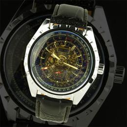 часы стильные спортивные Скидка Jaragar стильные роскошные мужские кожаные часы из нержавеющей механические спортивные погружения мужские лучшие марки наручные часы