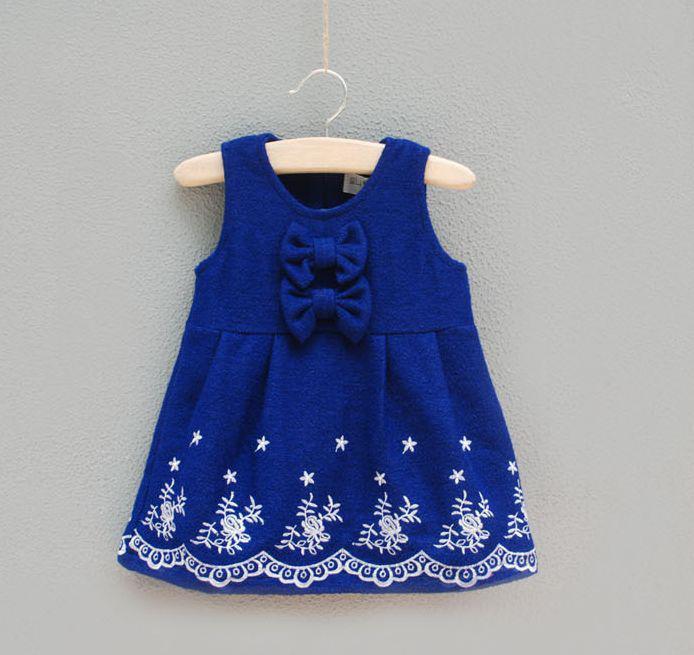 Vestidos de lã de alta qualidade Autumn Style Vest Skirt