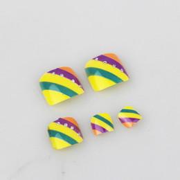 $enCountryForm.capitalKeyWord Canada - 12sets lot 3D Toe With Nail Glue Acrylic Nail Art False Tip