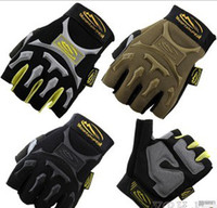 Wholesale Mechanix Tactical Gloves M Pact Seals Gloves Cycling gloves Bicycle gloves Mountain Half finger