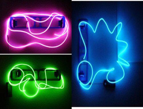 2018 3x 9ft Flexible Waterproof El Glow Neon Light Wire For Party ...