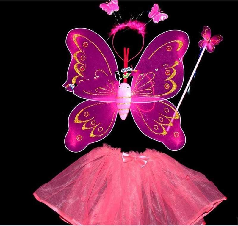 ca5e122bf 2019 BUTTERFLY FAIRY Wings Magic Wand,Masquerade Performance,With A Diamond  Single Layer Wings And Skirt From Michaelshenzhen, $54.59 | DHgate.Com