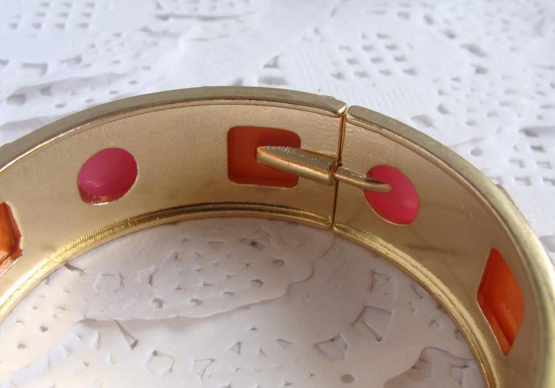 C3カラフルなゴールドブレスレットを開く高級宝石ブレスレット