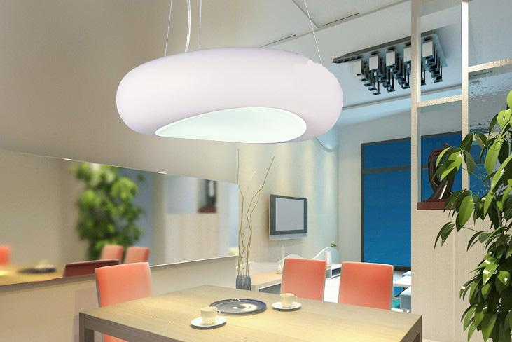 Discount Modern Simple Egg Shaped Chandelier Living Room Study ...