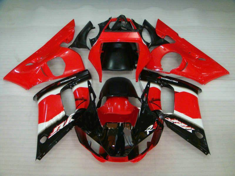 Passar till Yamaha R6 Fairing Kit 1998 1999 2000 2002 Modellfeader YZF-R6 98 99 00 01 02
