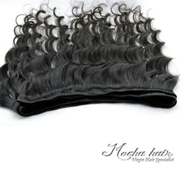 "Wholesale retail virgin hair - 4pcs lot 400g Retail Virgin Brazilian Hair Weft ,Loose Wave,12""14""16""18""20""22""24""26""Natural Color High Quality"