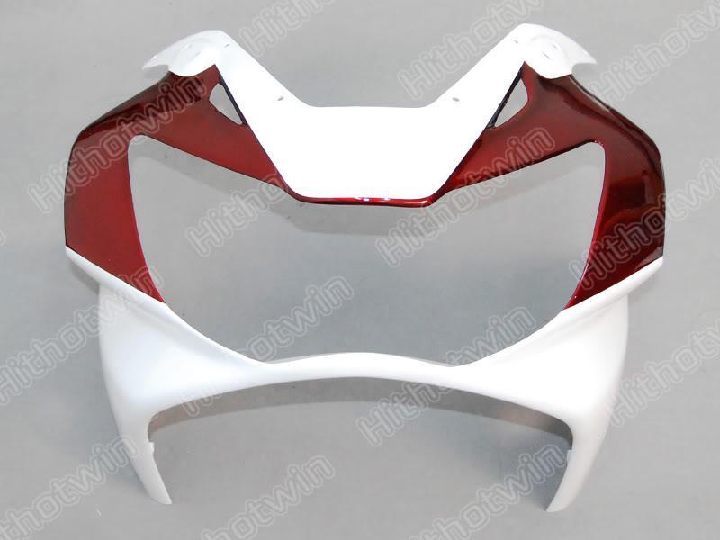 Kit de carenado rojo personalizado para HONDA CBR900RR 00 01 CBR-900RR CBR 900RR 929 2000 2001 Molde de inyección Conjunto de carenado + 7 cambios