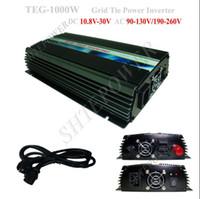 Wholesale Solar Power Grid Panel - 1KW On Grid Tie Solar Panel Invertor, 1000w On Grid Solar Power Inverter, DC 10.8V~28V to AC 220V