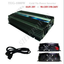 Wholesale Grid Tie Inverter Ac - 1KW On Grid Tie Solar Panel Invertor, 1000w On Grid Solar Power Inverter, DC 10.8V~28V to AC 220V
