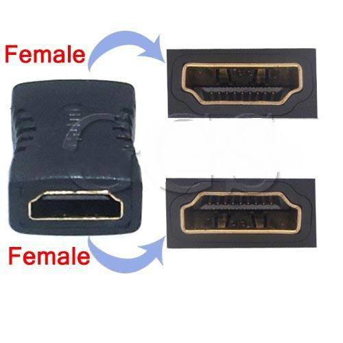 Free Shipping 5 Pieces/Lot HDMI Extender Female to Female Coupler Adapter Joiner Connector F/F 1080P