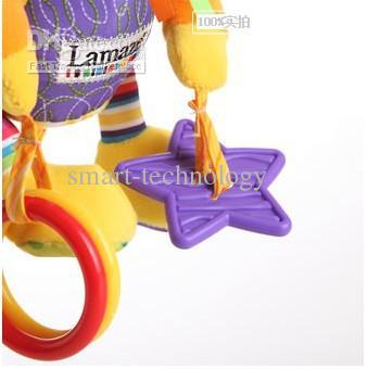 Lamaze toys Baby Toy ، سرير معلق سيارة للأطفال ، ألعاب تعليمية ، ورق صوت ، جهاز BB