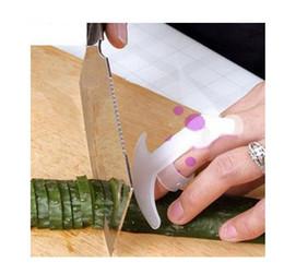 Canada 50 pcs Doigt Main Protecteur Garde Couteau De Cuisine Côtelette Cuts Utiles Légumes Main Garde Paquet Au Détail Offre