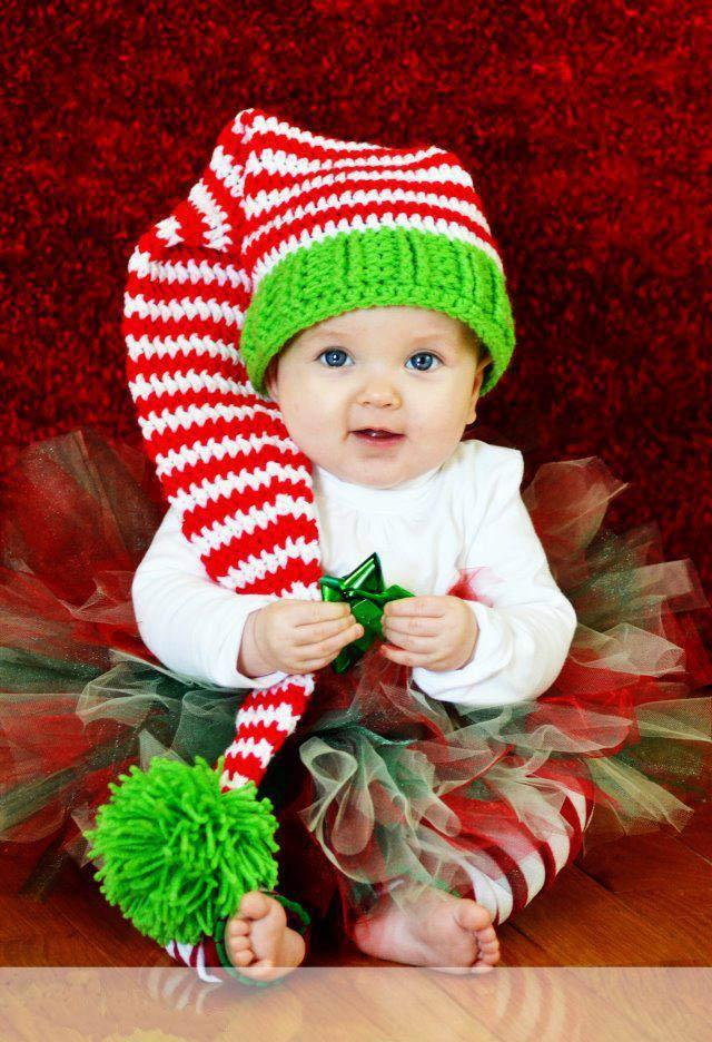Best Baby Crochet Hats Newborn Toddler Long Tail Hat Kid Handmade ...