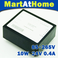 Wholesale Power Dvd Camera - 10PCS lot 10w AC-DC 220V 110V 85-265V 24V Single Power Supply Module Converter Transformer #BV100 CF