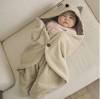 New Baby Swaddle Blanket Wrap Sleeping Bag Swaddling Baby Bl...