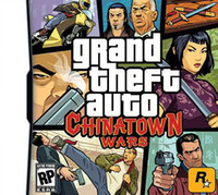 Wholesale Grand Games - Hot Games: Grand Theft Auto Chinatown Wars, with retail package, US Version 5pcs freeshipping