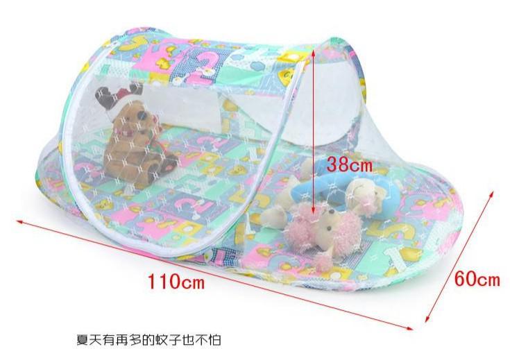 Çocuklar için çok fonksiyonlu katlanır yatak ağları / bebek cibinlik / ücretsiz kargo 2 adet / grup