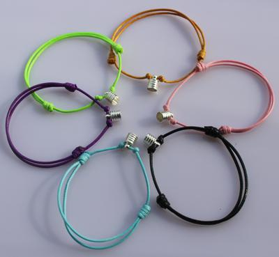 2018 Wax Cord Bracelets, Diy Bracelet Cords, Rice Vial BraceletsAssorted  Colors From Nancy882010, $14.17