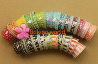 Wholesale Sell Muffin Cups - Hot selling 1500pcs Mixed 17 color Polka DOT 6 color Stripe Round MUFFIN Paper Cake Cup Cake case
