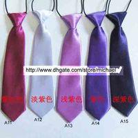 bebek kravat toptan satış-Çocuk Kravatlar Kravat Erkek Kız Kravat Bebek Eşarp gentry Boyunbağı ücretsiz renk seçin
