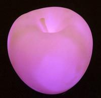 Wholesale Apple Desk Light - Changeable Colors Led Apple Lamp,Apple Light,Table Desk Lamp for Holiday Party Festival Decoration.
