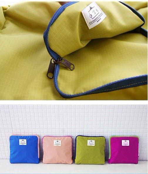 의 지퍼 저장 가방 패키지 접을 수있는 어깨 방수 여행 가방 쇼핑