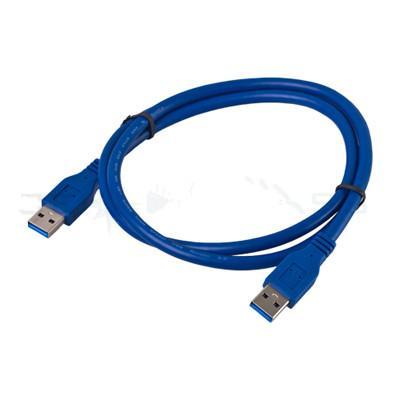 10 pcs 3FT / 1 M Azul USB 3.0 Tipo Um Macho Para Um Masculino 5Gbps Superspeed Cabo De Extensão