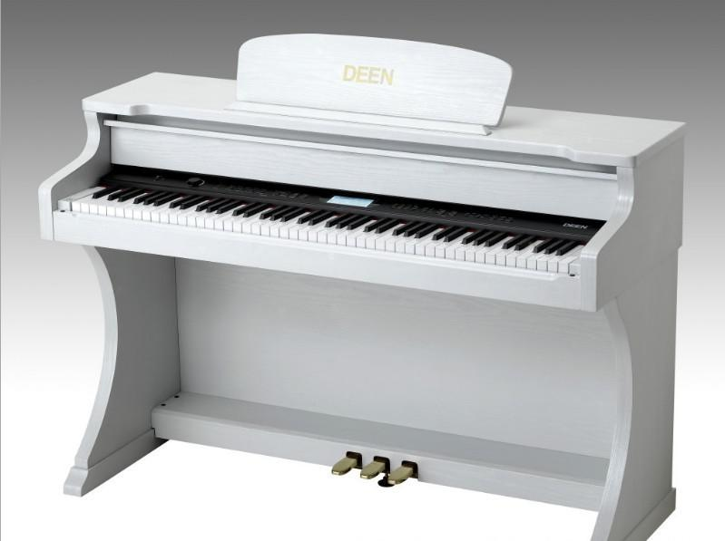 2017 upright piano white digital electric piano 88 keys deen piano from allguitar. Black Bedroom Furniture Sets. Home Design Ideas