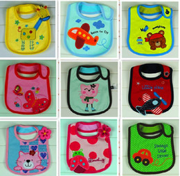 Top Infant Saliva Towels 3-layer Baby Bib Waterproof Bib Mark The New Bib Bibs & Burp Cloths