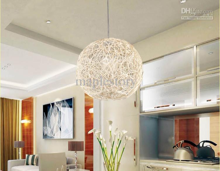 Nice Discount New Modern Wooden 30cm Kitchen Pendant Light Islandpar Chment Head  Single Bedroom Living Room Ceiling Lamp Wood Ems Pendant Lights Ceiling  Fans ...
