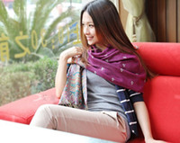 Wholesale womens winter scarfs - Womens winter Shawl wrap shawl Scarves ponchos wrap 11pcs lot#2190