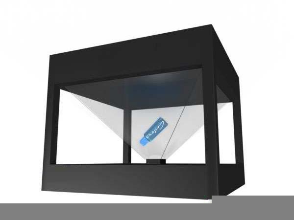 D Hologram Exhibition : Holo box d display hologram