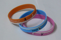 Wholesale Customize Rubber Bracelets - 500pcs a lot customized silicone rubber wristbands EG-WBP002 cheap rubber hand bands custom design armbands promotional bracelets