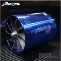 Wholesale Wind Turbine Free - Turbo fan Double-sided wheel turbocharger SIMOTA turbine sided impeller turbine intake wind round s wholesale free shipping