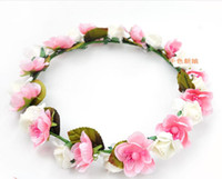 Wholesale Latin Headdress - Sweet floral wreath the bride headdress flower the bride Wedding accessories Latin, Party