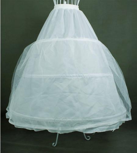 Schnelle Lieferung! White Beauty Design A-Line Petticoat PE012