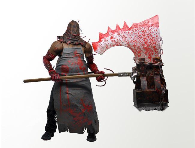 Resident Evil 6 Biohazard Toys : Neca resident evil biohazard executioner majini action