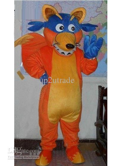 fox mascots doras friend swiper fox mascot costume cartoon costume holloween mascot fancy dress halloween costume couples halloween costumes from up2utrade - Swiper Halloween Costume
