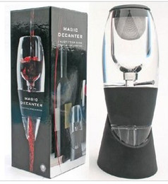 Wholesale Magic Wine Aerator - Magic Red Wine Decanter Aerator with bag and filter hopper Wine Decanter