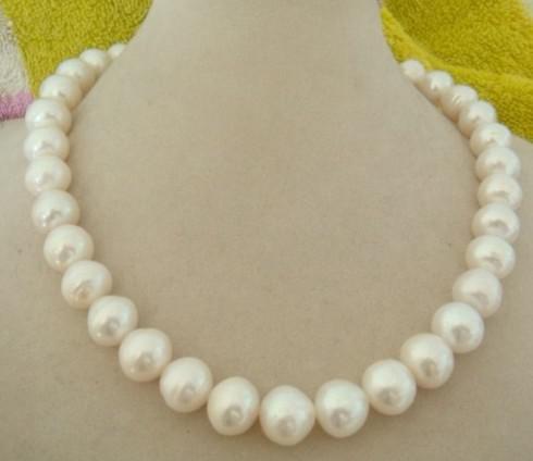 Прекрасный жемчуг ювелирные изделия японский Akoya белый морской жемчуг ожерелье 8 мм 18 дюймов