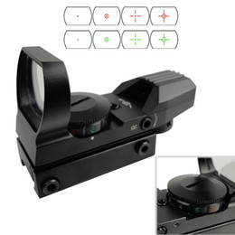 Wholesale Wholesales Scopes - Tactical Electro Green and Red Dot Sight Rifle Scope for airsoft