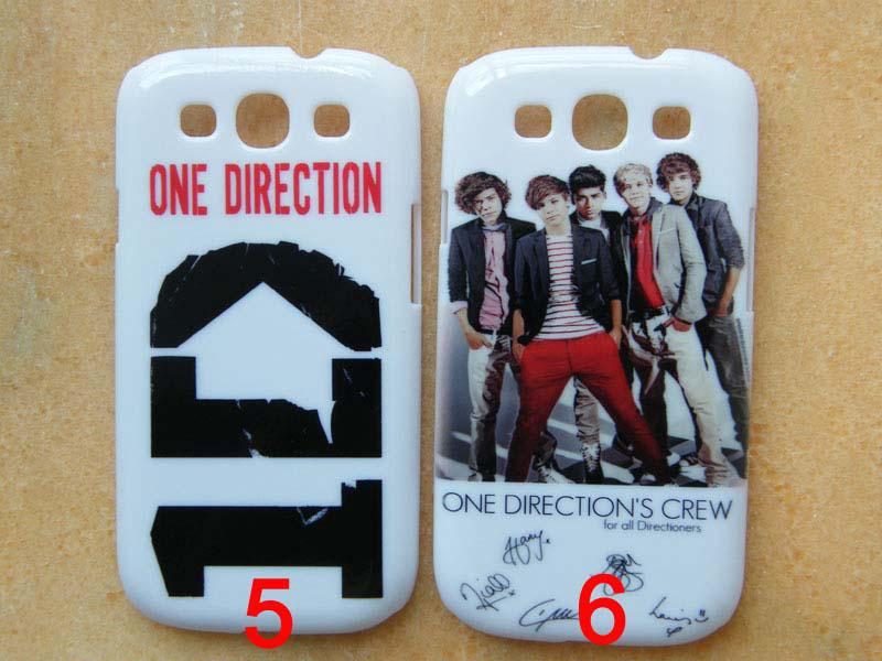 super popular 737c5 b2431 One Direction 1D Hard Back Case Cover For Galaxy S3 I9300 Customize ...