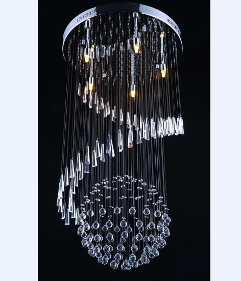 Modern crystal chandeliers spiral ball chandelier restaurant lights modern crystal chandeliers spiral ball chandelier restaurant lights silver chandelier blue chandelier from goodsoft 27639 dhgate aloadofball Images