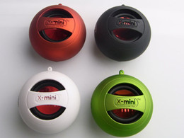 Wholesale Computer Multimedia Speakers - X-Mini Music Angel Mini Multimedia Portable Speaker Mixed Color White Black Green Red